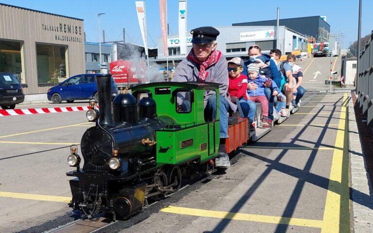 Dampffahrten, Modelleisenbahn und Remise am Sonntag, 30. Mai 2021