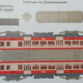 Bastelbogen – Triebwagen BDe 4/4 der Waldenburgerbahn