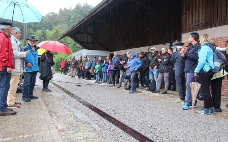 Grosser Bahnhof zur Eröffnung am 30.8.2020