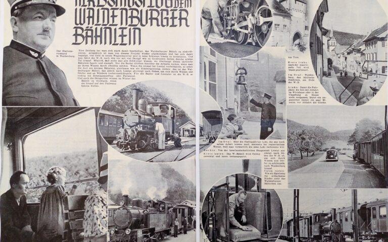 Herbstausflug mit dem Waldenburger Bähnlein